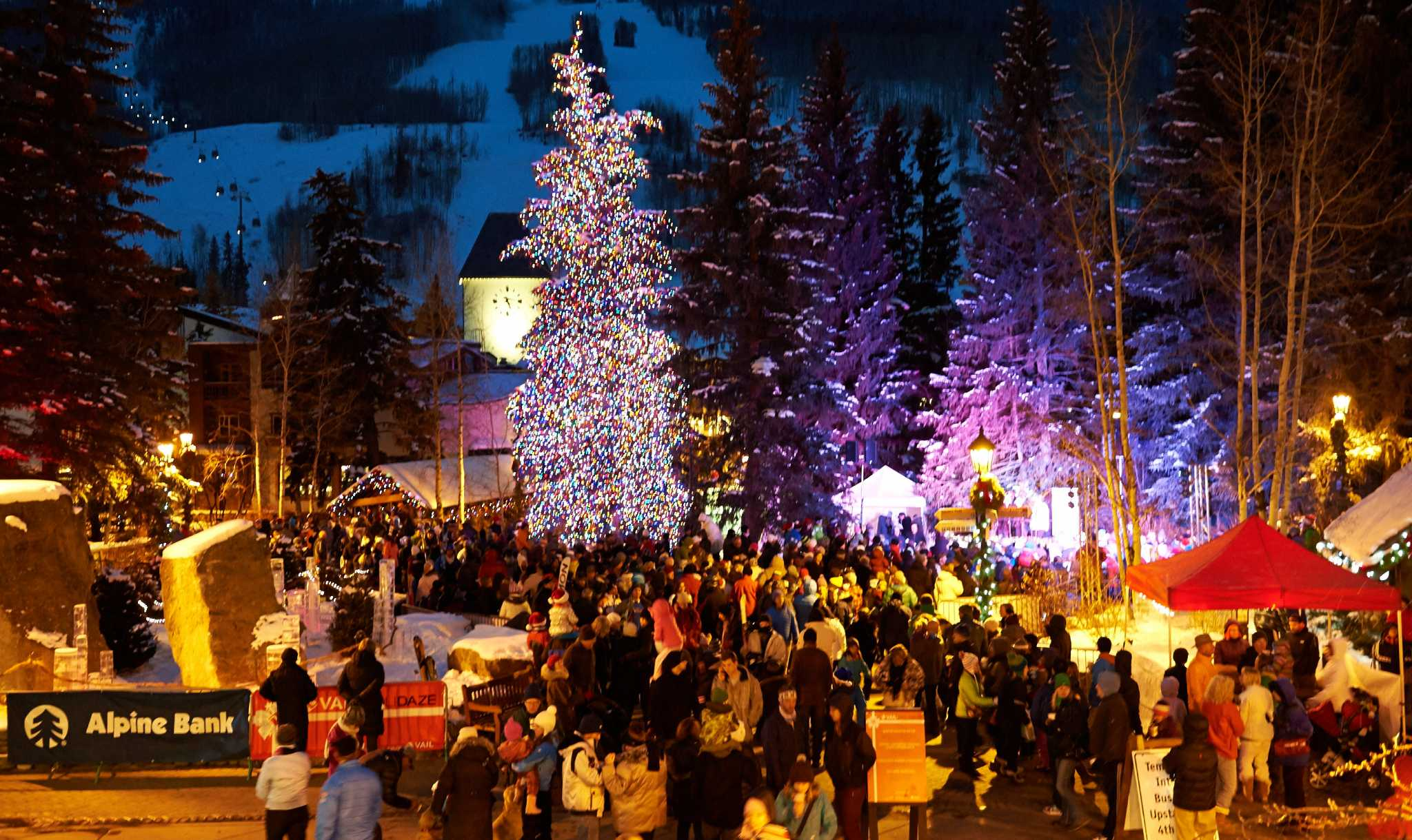 bustling is a good term to describe the constant energy level that encompasses vail this resort is popular and it knows it how could it not be given the